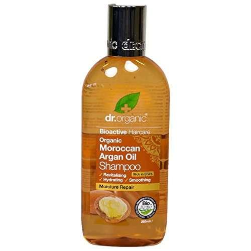 Miglior prodotto per capelli - Shampo Dr.Organic Moroccan Argan Oil