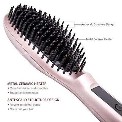 spazzola lisciante struttura