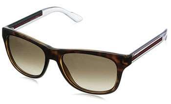 Occhiali-da-sole-UOMO_Gucci Due tono Wayfarer 3709:S 2WO 57