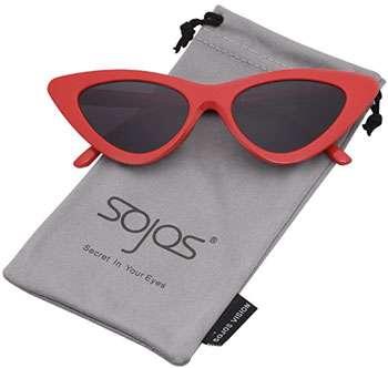 241db68416 SOJOS Occhiali di Protezione Occhiali da Sole da Donna Occhio di Gatto