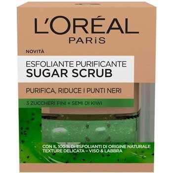 Scrub---L'Oréal-Paris-Sugar-Scrub-Esfoliante-Purificante-Viso
