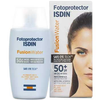 Crema-solare-viso---Isdin-Fusion-Water,-Fotoprotettore-Viso,-Spf50