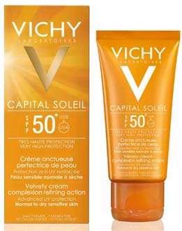 crema viso solare vichy-ideal-soleil