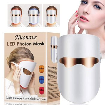 Maschera LED viso - Anti Acne Maschera, LED Photon Terapia, Whitening Mask