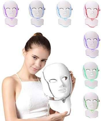 Maschera LED viso - NBD® 7 Colore LED