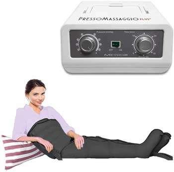 Pressoterapia professionale - MESIS Pressoterapia PressoMassaggio Plus+ (con 2 gambali e Kit Slim Body)