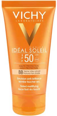 Migliori solari pelle grassa - Vichy Ideal Soleil Emulsione Colorata Effetto Asciutto