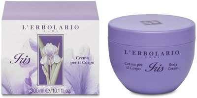 Crema Corpo - L'Erbolario, Crema Corpo Iris, Trattamento Idratante