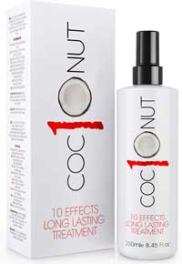Termoprotettore per Capelli - Coconut 10 - Spray Termoprotettore Capelli al Cocco