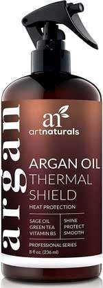 Termoprotettore per capelli - Spruzzo di Artnaturals termico per la protezione dei capelli