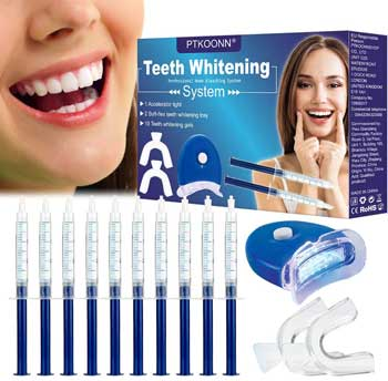 Sbiancamento denti - PTKOONN Kit