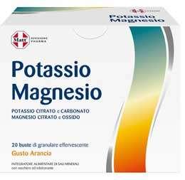 matt integratore potassio magnesio