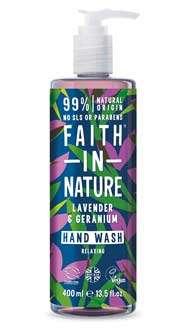 faith in nature sapone naturale economico