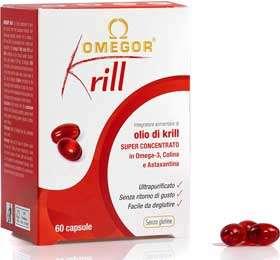 omegor integratore olio di krill